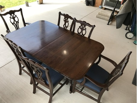 Ethan Allen Dining Table